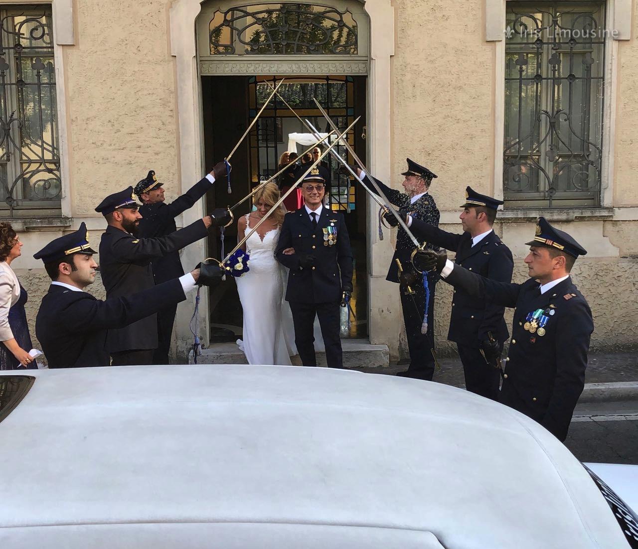 13/04/19 Video Picchetto d'Onore Sposi